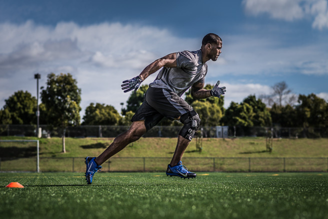 Bionic Fullstop Football Player Running