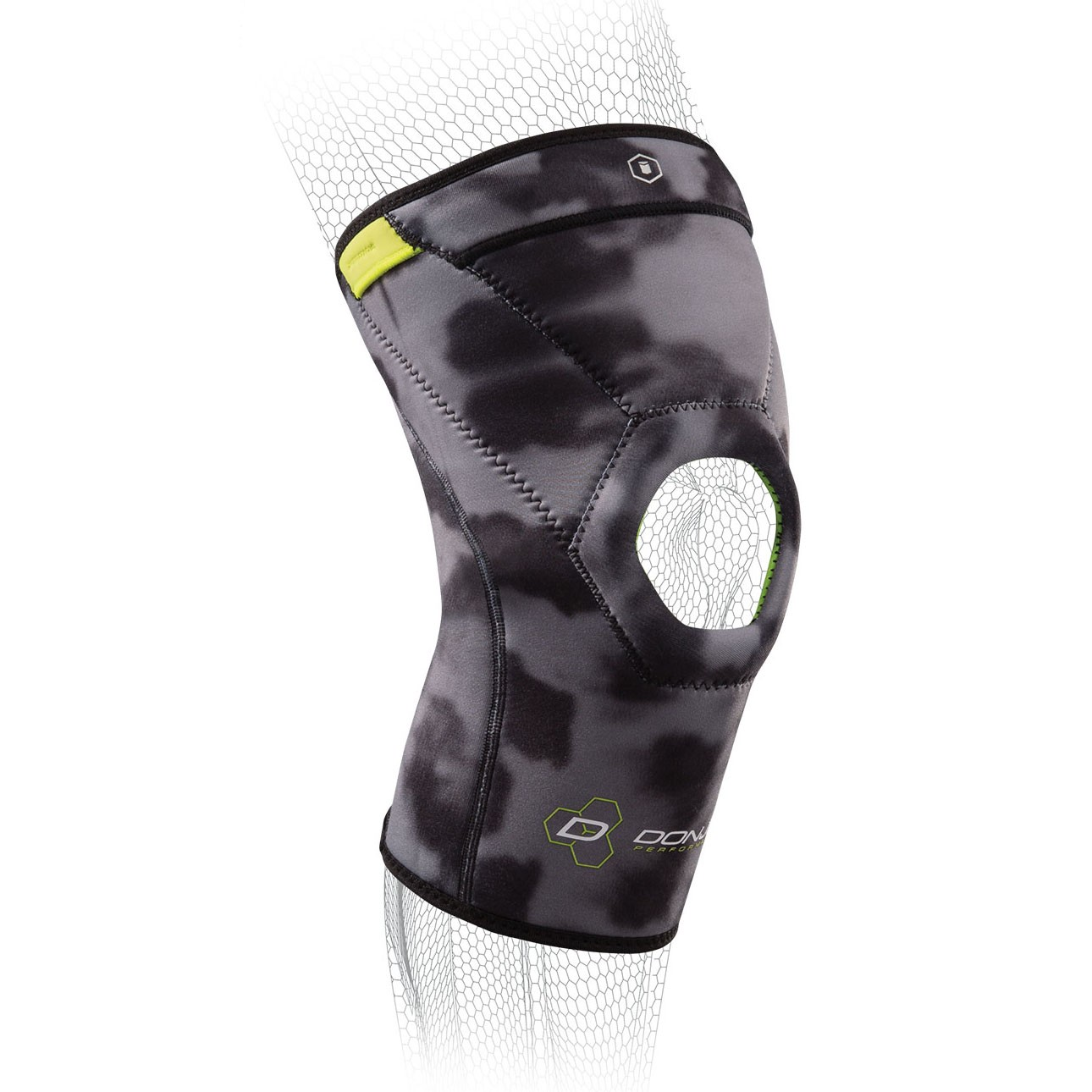 AnaForm 4MM Open Patella Knee Sleeve - Hex - Camo