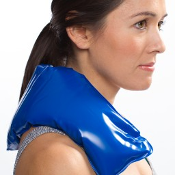 Chattanooga ColPac - Blue Vinyl - Neck Contour - 23 in
