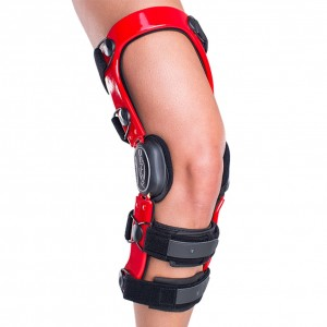 DonJoy Defiance III Custom Knee Brace - Red