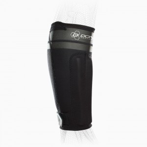 AnaForm Shin Splint Sleeve - Black - Hex