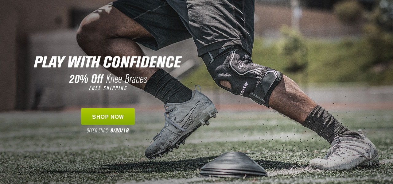 Play with Confidence - 20% Off Knee Braces