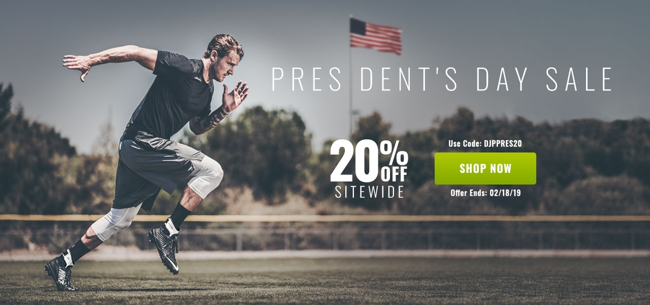 President's Day Sale - 20% Off Sitewide
