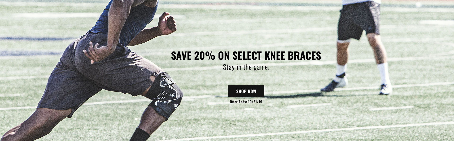 Save 20% on Select Knee Braces