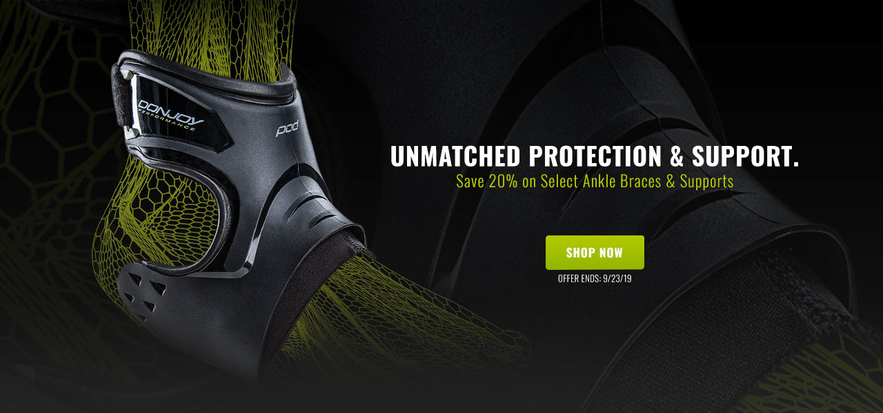 Save 20% on Select Ankle Braces & Supports