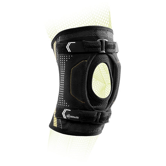DUAL-PULL PATELLA STABILIZER KNEE SLEEVE