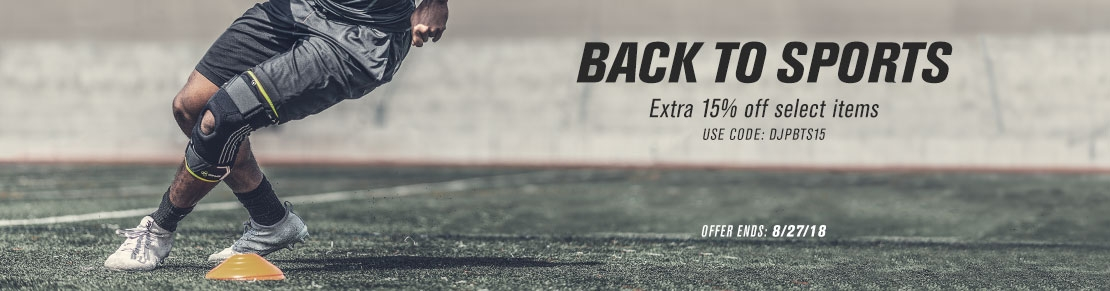 Back to Sports - Extra 15%