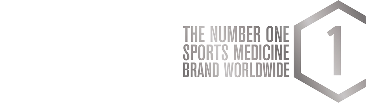 The number one sports medicine brand worldwide